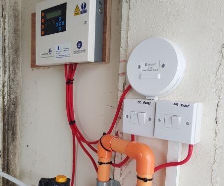 Fire sprinkler system Dorset